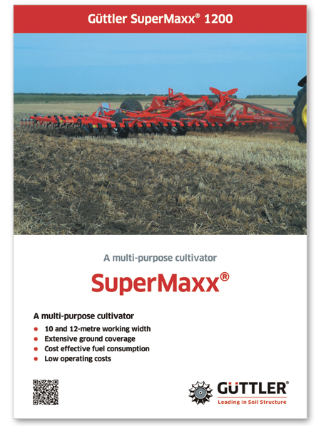 Brochures: A multi-purpose cultivator - SuperMaxx