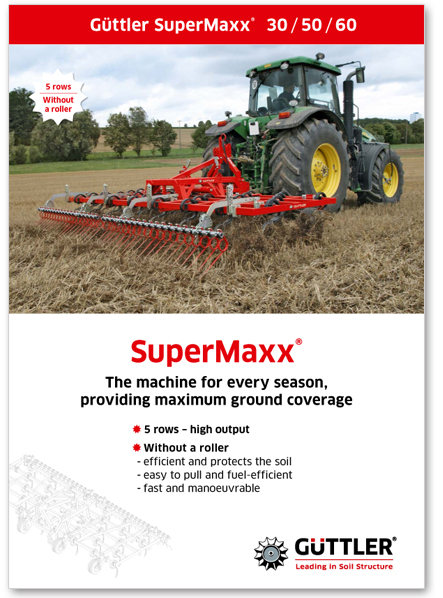 Güttler SuperMaxx - The machine for ever season, providing maximum ground coverage - Brochures